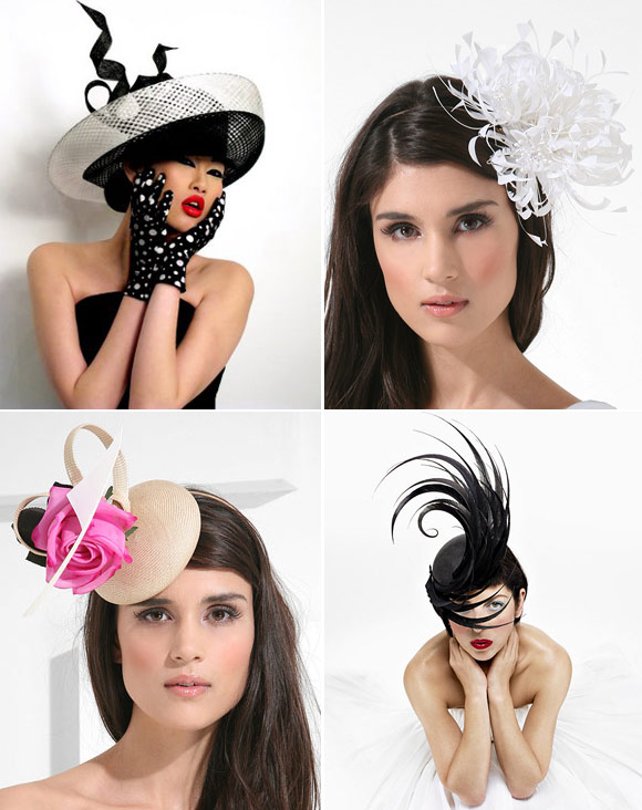 International wedding hats designers