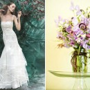 Floral inspiration : JMFlora Designs bouquets and YolanCris wedding dresses
