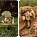 La Partie Events I: romantic wedding bouquets by floral designer Megan Fickling (La Partie Events)