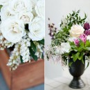 La Partie Events II : beautiful flower arrangements for a wedding by La Partie Events
