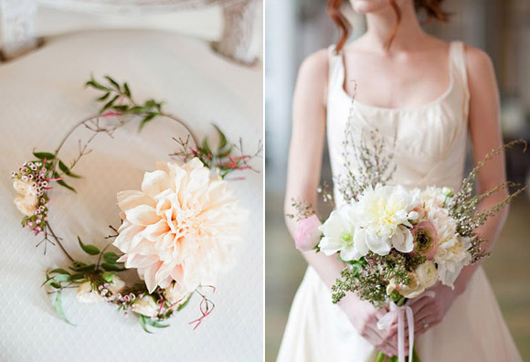 Pink details for a romantic wedding