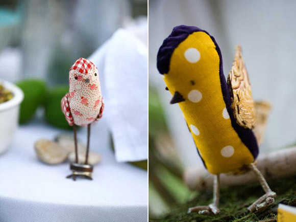 A bird theme for your wedding