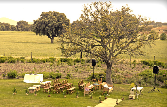 Wednesday Wedding Planners, boda de Marta y Javier, boda en el campo