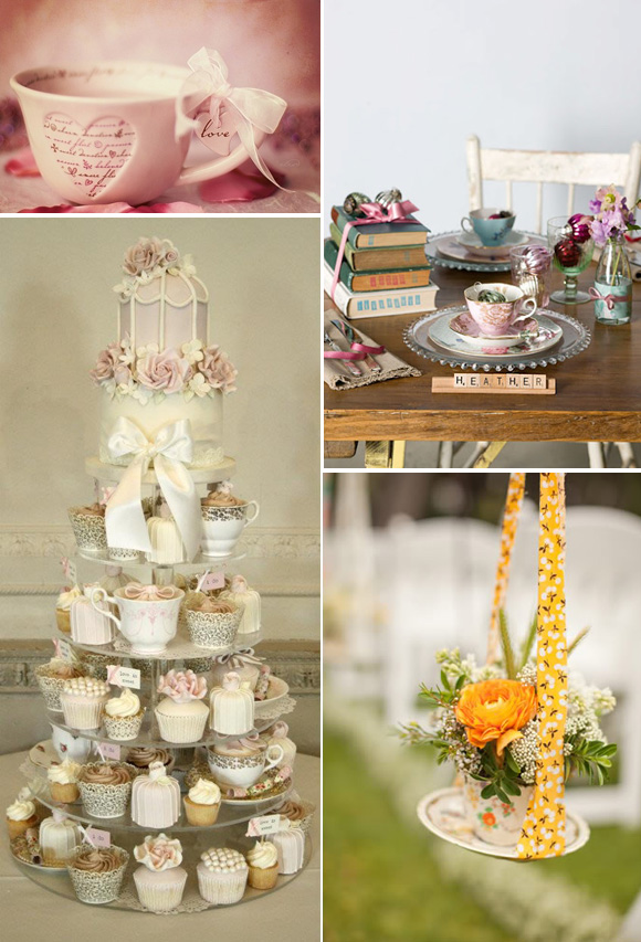 Decoraci n en bodas on pinterest bodas mesas and fall - Decoracion boda vintage ...