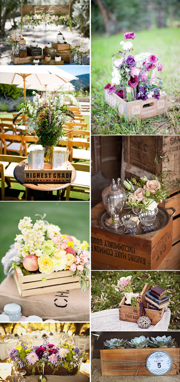 Ideas vintage para decorar tu boda