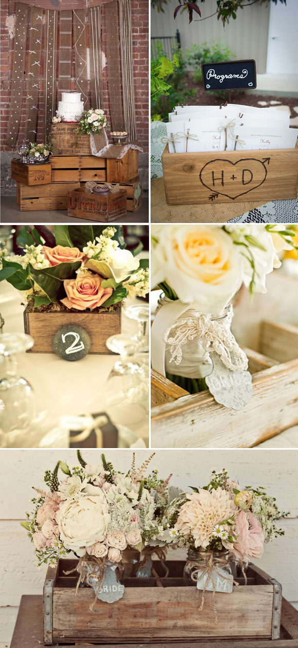 5 ideas para decorar tu boda que nos encantan for Decoracion vintage boda