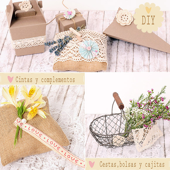 DIY y manualidades para bodas. Shop.Beautifulbluebrides.com