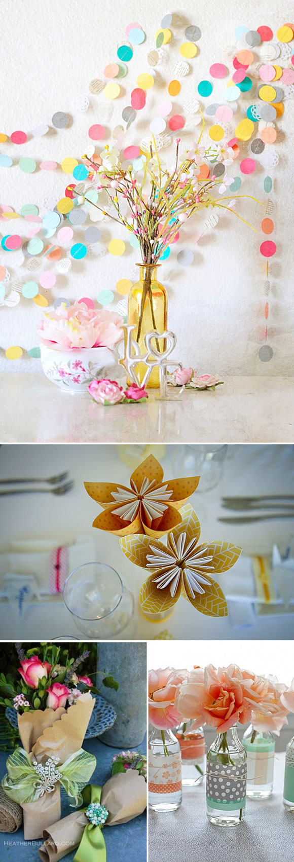 Decoraci n con papel - Decorar con papel ...