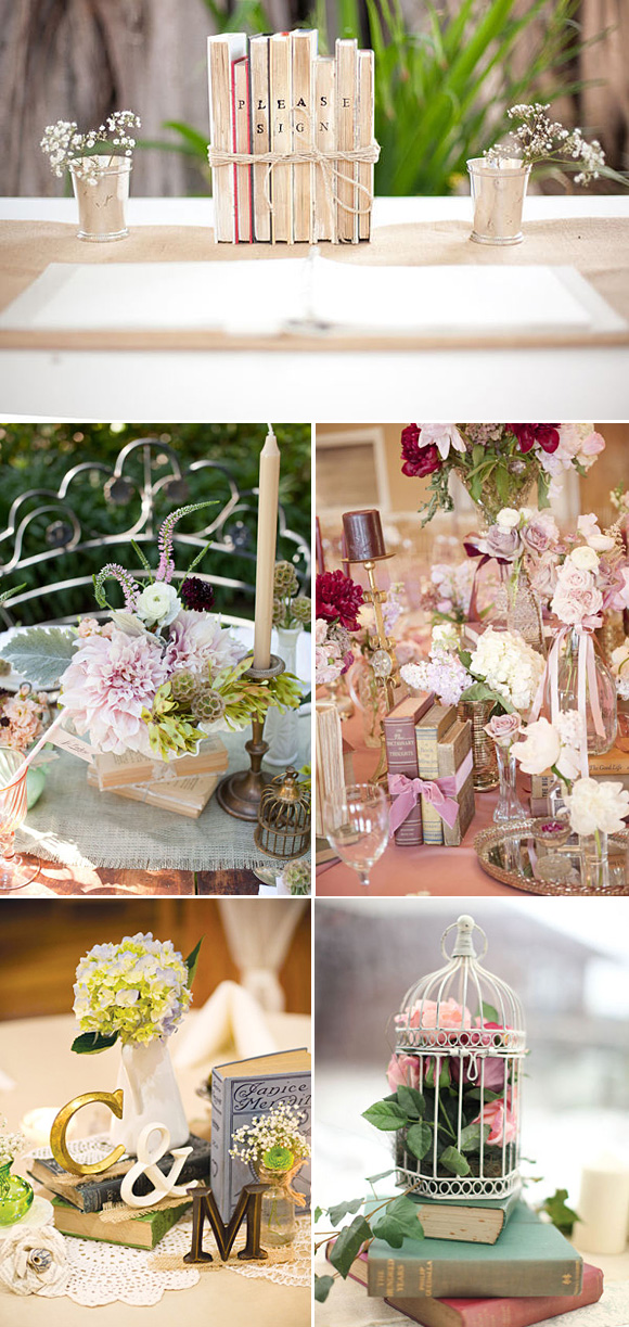 Ideas para decorar tu boda for Centros de mesa para bodas originales