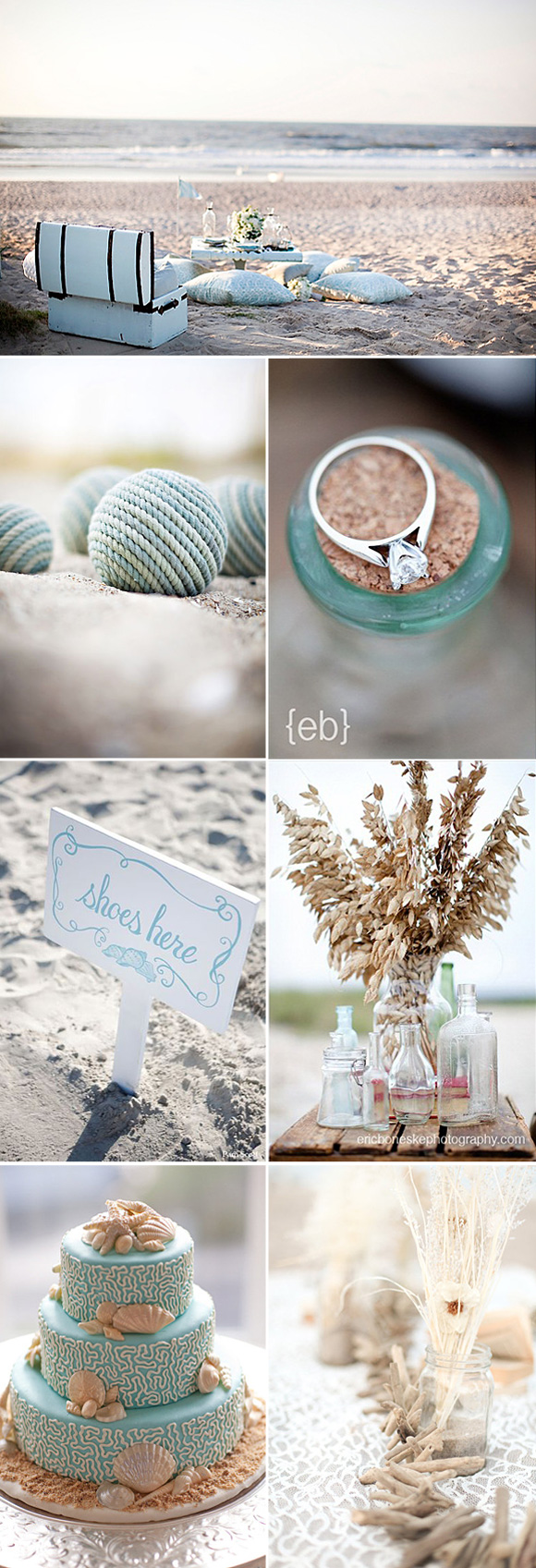 Bodas en la playa ideas para decorar bodas playeras - Ideas para una boda en la playa ...