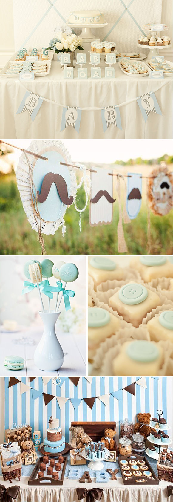 Ideas para decorar un baby shower de niños