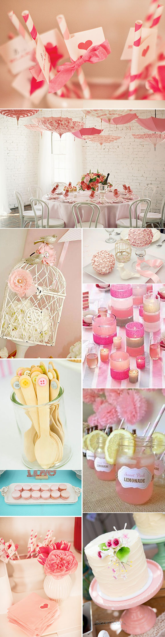Ideas para decorar un baby shower de ninas
