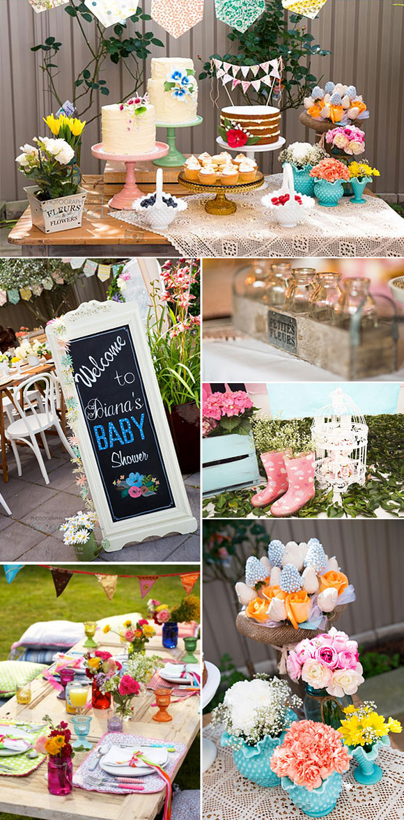 Ideas para decorar un baby shower