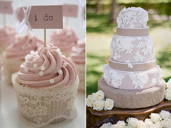 10 ideas para decorar tu boda con encaje for Dulce boda
