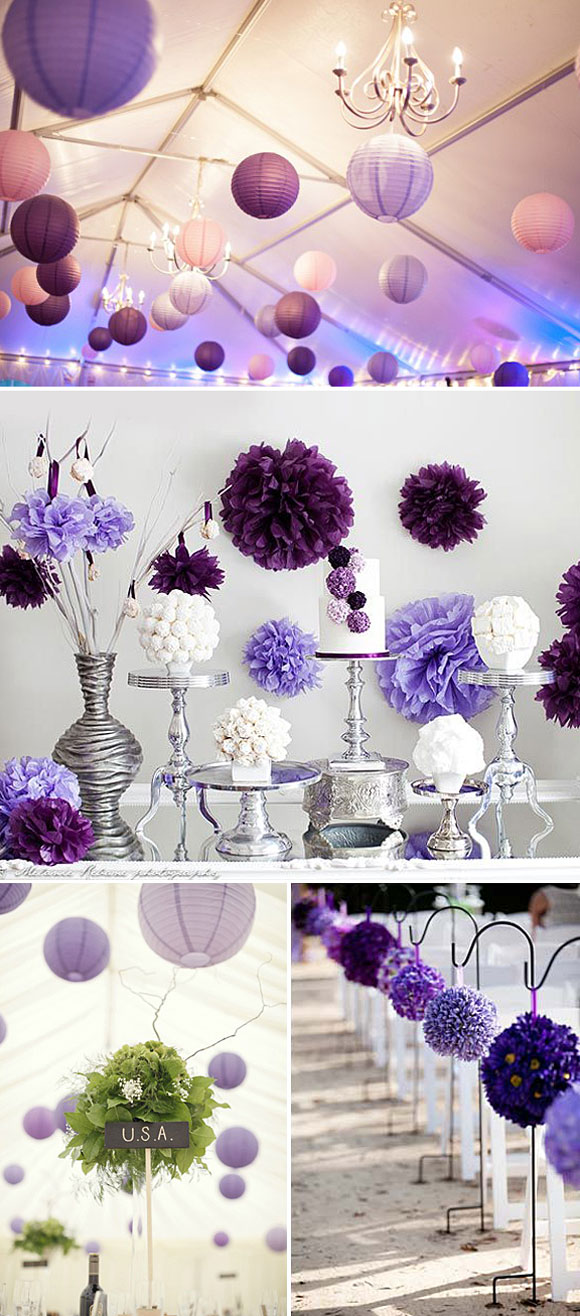 Decoracion bodas color violeta - Decoracion bodas ...