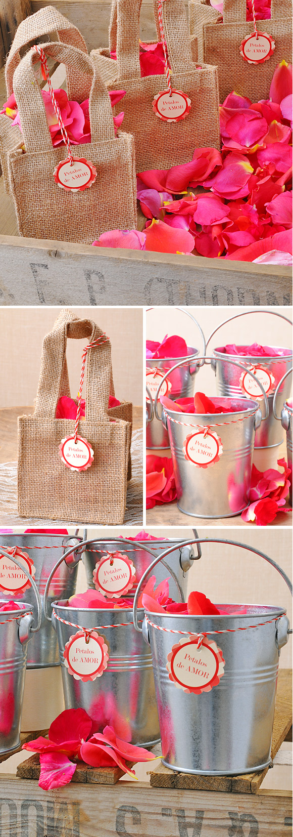 Diy de bodas ideas diy - Ideas para colocar los bolsos ...
