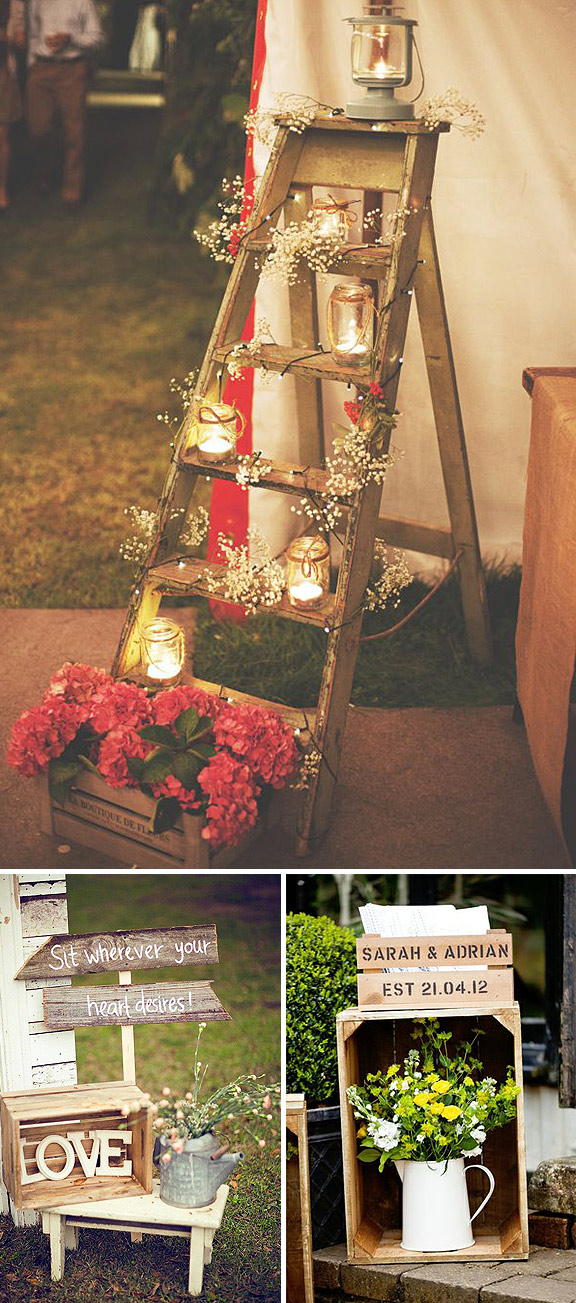 Fiestas rustic chic - Ideas vintage decoracion ...
