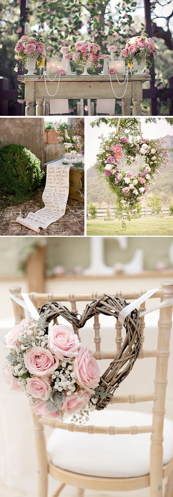 Decoracion Romantica Para Bodas ~    en este post os damos m?s ideas para decorar con rosas