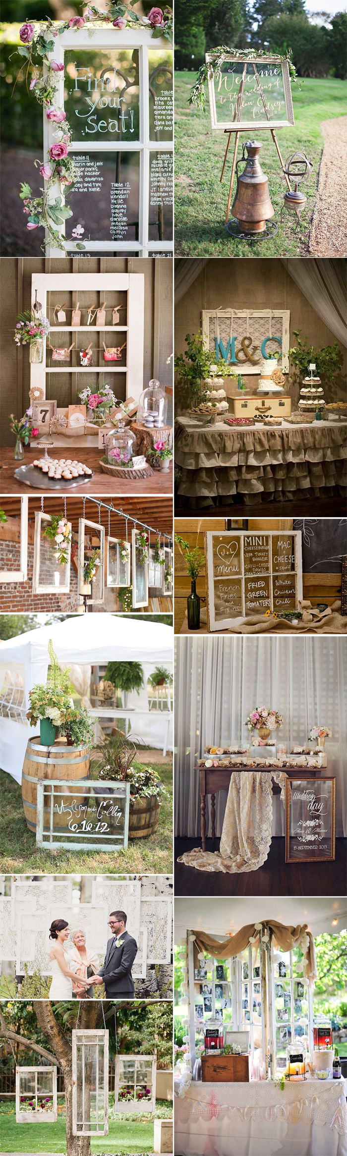 Decoraci n de bodas vintage for Ideas originales de decoracion