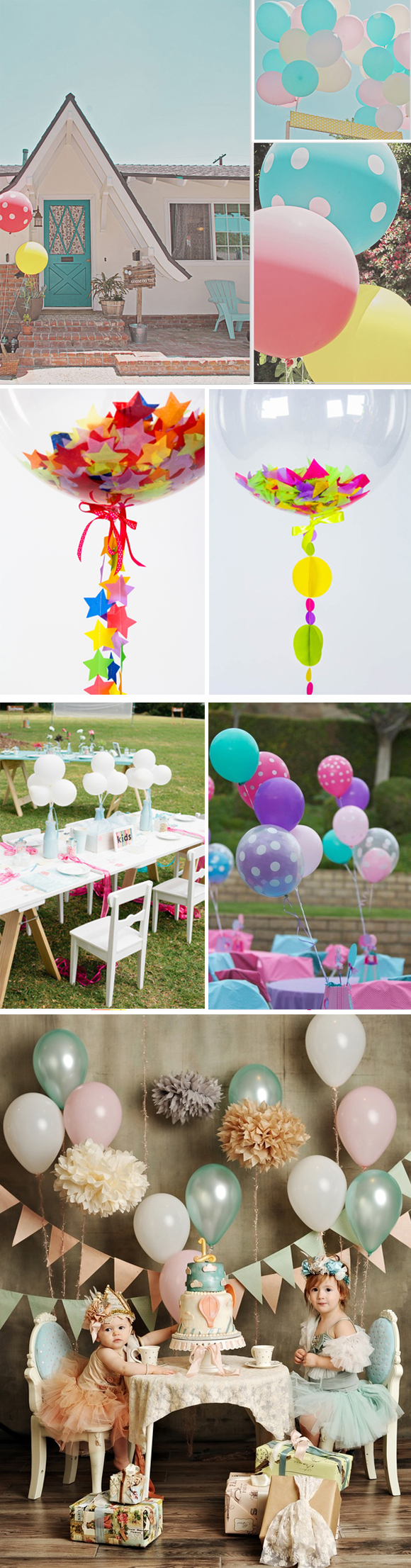 Ideas originales para decorar con globos fiestas infantiles for Fiestas ideas originales