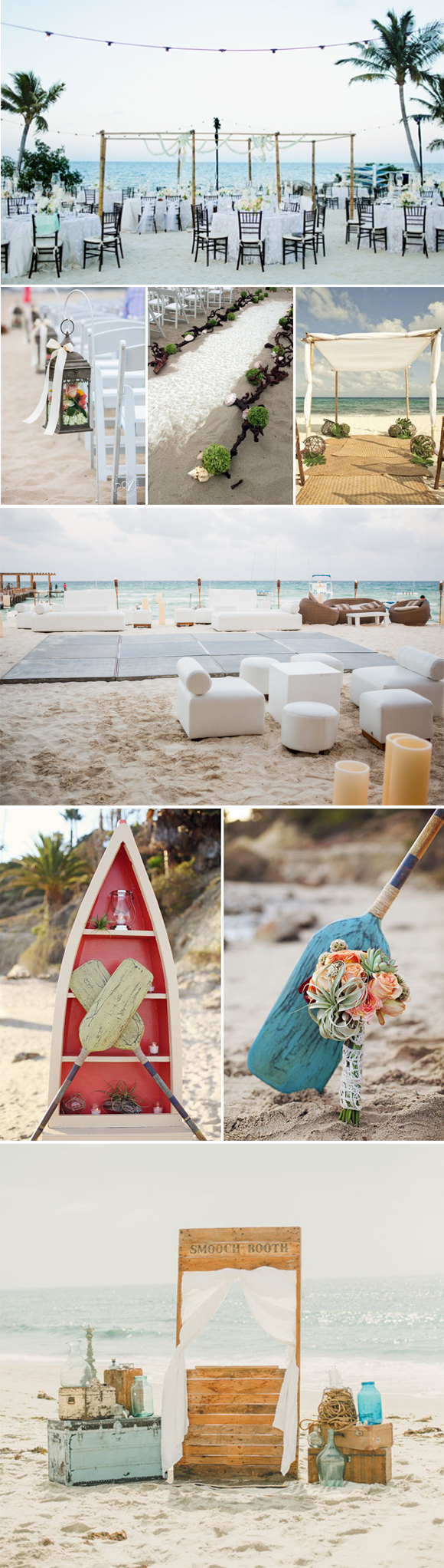 Decoraci n de bodas en la playa - Ideas para una boda en la playa ...