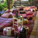 Ideas para decorar el rincon chill-out en tu boda