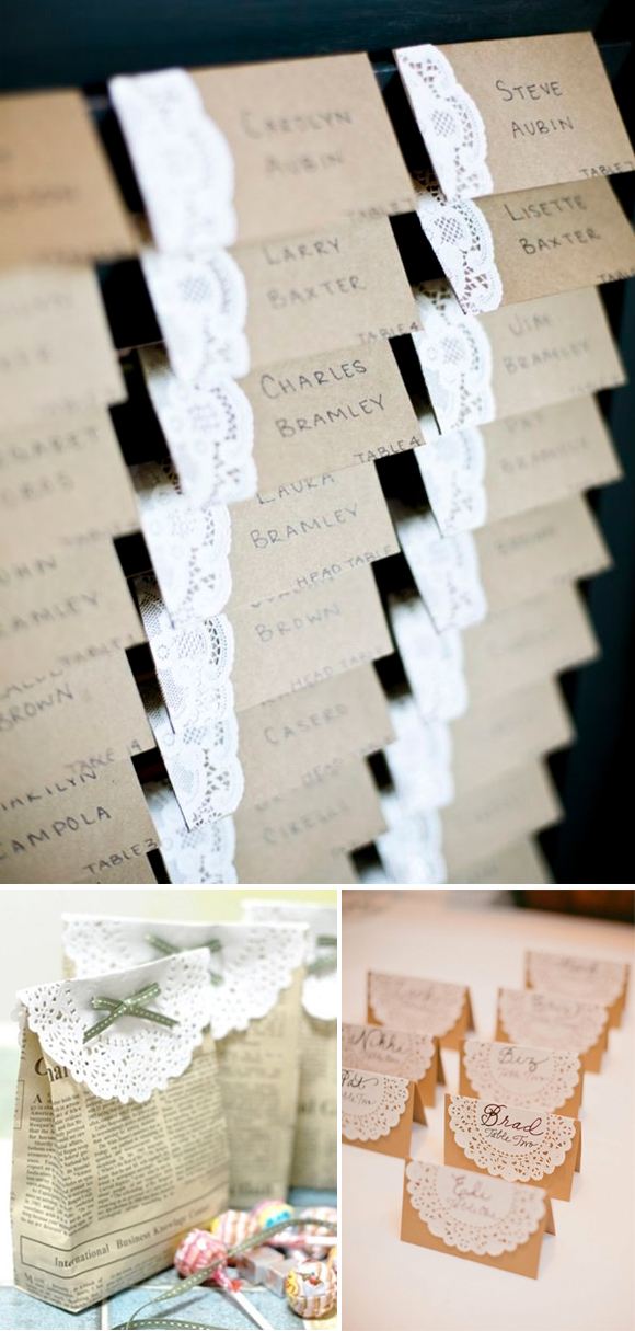 DIY con blondas 2 seating plan protocolo invitados etiqueta