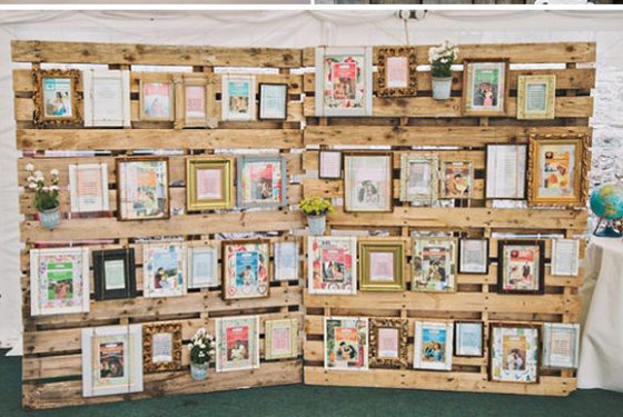ideas originales para decorar una boda