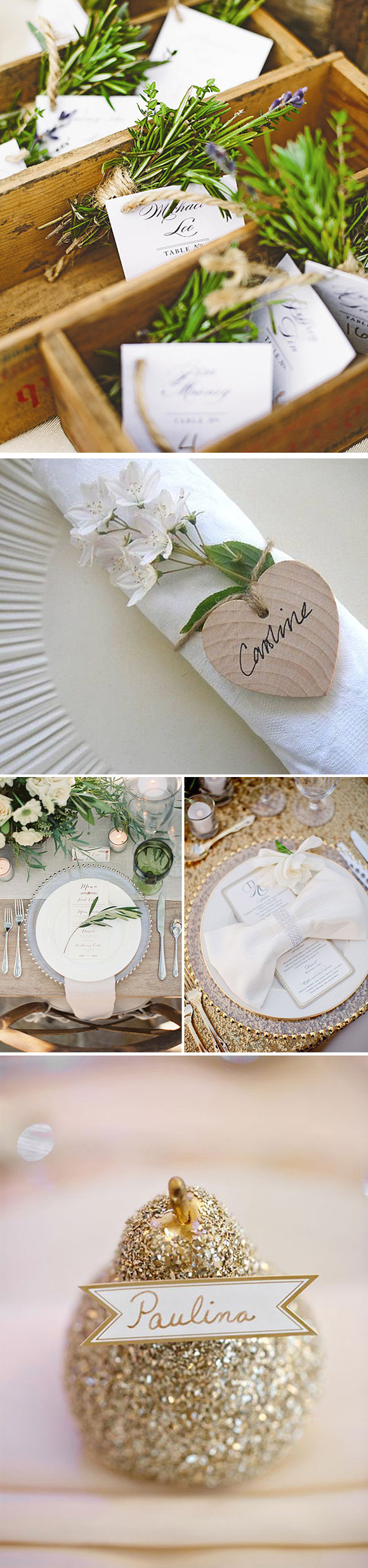 Ideas para decorar los platos de los invitados en las bodas for Ideas originales de decoracion