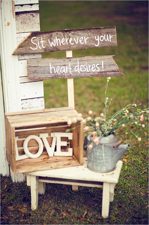 Ideas para decorar tu boda con letras LOVE