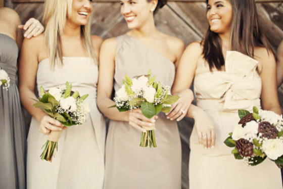 Choose pink for a very romantic wedding