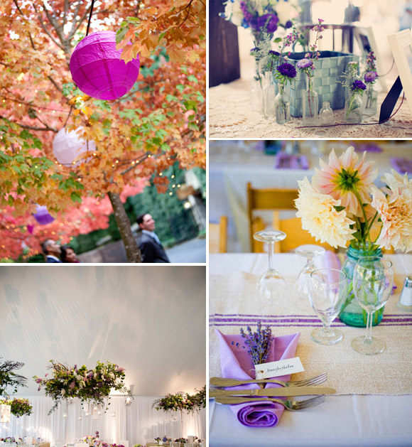Lilac: a delicate and subtle colour for your wedding day