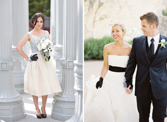A simple and elegant look on your wedding da