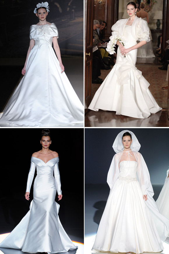 Autumn and Spring wedding dresses