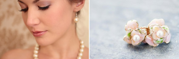 A simple and elegant look on your wedding day