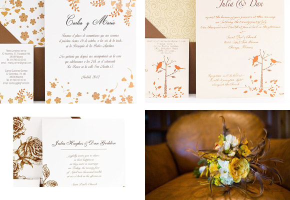 The new Azulsahara Collection : lovely and original wedding invitations for your wedding day