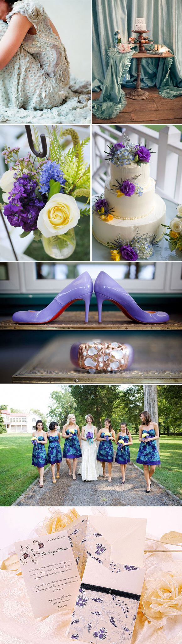Ideas bodas por colores
