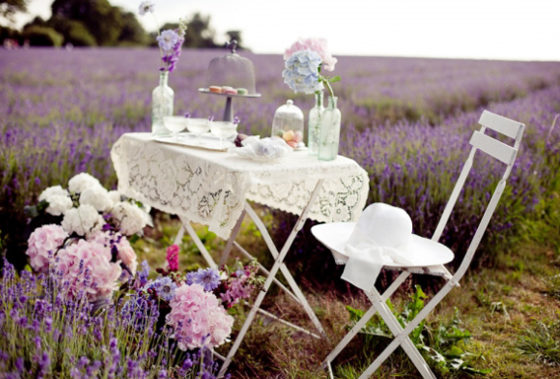 Ideas para decorar tu boda con Lavanda