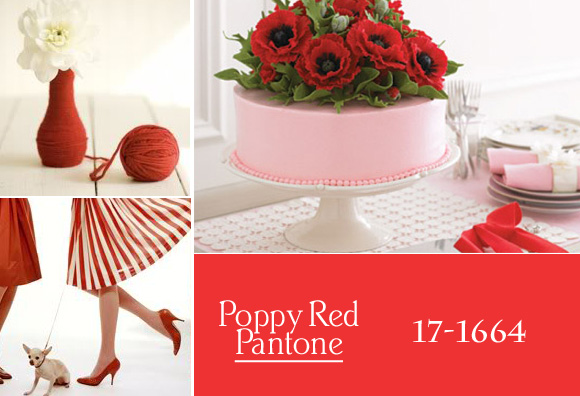 Colores de boda 2013 - Poppy Red