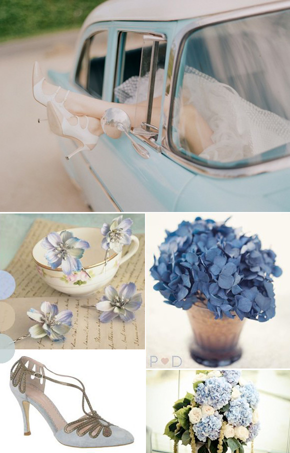Ideas para bodas en color azul tiffany