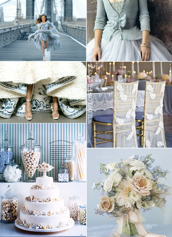 Ideas decoración bodas en azules