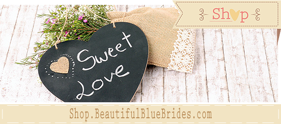 Shop.Beautifulbluebrides.com boutique de decoración y DIY de bodas