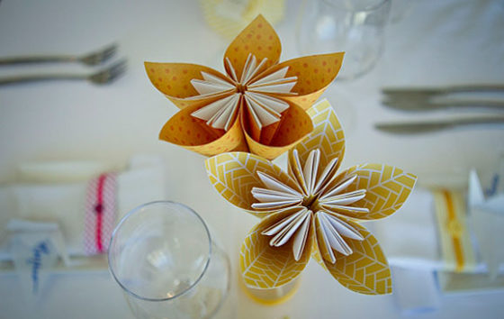 Ideas para decorar tu boda con papel