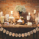 Candy Bar: una preciosa idea para endulzar tu boda