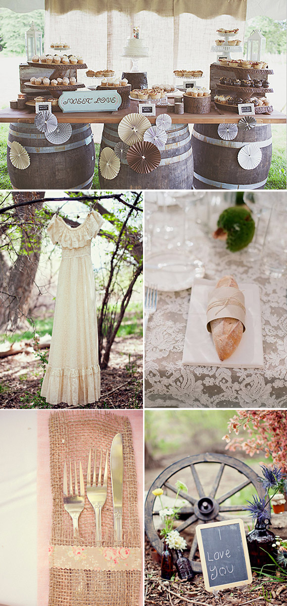 Ideas para decorar tu boda vintage