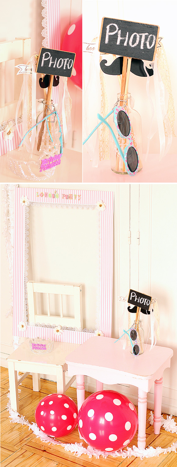 Photo Booth para fiestas infantiles