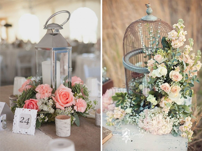 Ideas para una boda rom ntica for Decoracion de bodas vintage